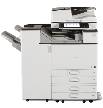 RICOH MPC4503 Full Color print/scan