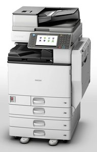 RICOH MPC3002 Full Color print/scan